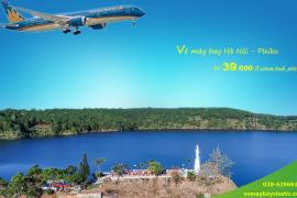 Vé máy bay Hà Nội Pleiku tháng 6 , 7, 8/2020từ 39.000 đ