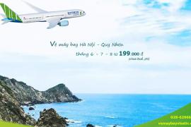 Vé máy bay Hà Nội Quy Nhơn tháng 6 , 7, 8/2020 giá rẻ từ 199.000 đ