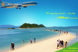 Vé máy bay Hà Nội Tuy Hoa Tháng 6, 7, 8/2020từ 169.000 đ
