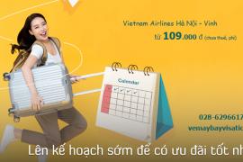 Vé máy bay Hà Nội Vinh tháng 6, 7, 8/2020từ 109.000 đ