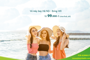 Vé máy bay Hà Nội Đồng Hới tháng 6, 7, 8/2020từ 99.000 đ