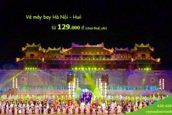 Vé máy bay Hà Nội Huế tháng 6 , 7, 8/2020từ 129.000 đ