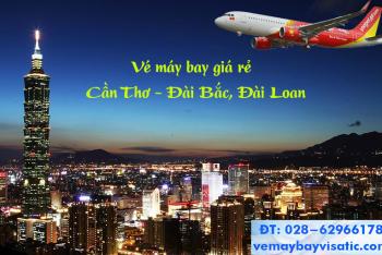 Vé máy bay Cần Thơ Đài Bắc Đài Loan Vietjet giá rẻ từ 310k