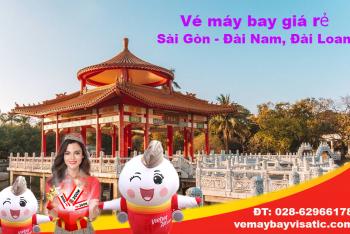 Vé máy bay Sài Gòn Đài Nam (TPHCM đi Tainan) Vietjet từ 1.374k