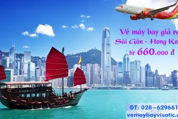 Vé máy bay Sài Gòn Hong Kong (TPHCM đi Hong Kong) Vietjet từ 660k