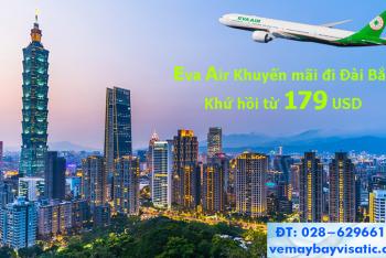 Eva Air khuyến mãi đi Đài Bắc khứ hồi từ 179 USD (Taipei, Đài Loan)