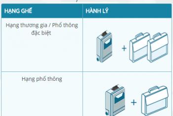 Quy định hành lý xách tay, hành lý ký gửi Vietnam Airlines
