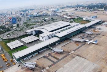 Hướng dẫn hành khách tại sân bay Tân Sơn Nhất đi, đến, chuyển tiếp.