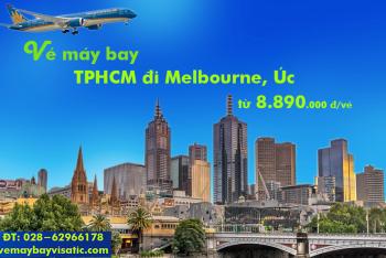 Vé máy bay Vietnam Airlines TPHCM đi Melbourne, Úc từ 8.890.000 đ