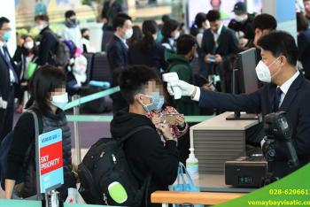 Lưu ý Quý hành khách nhập cảnh Hàn Quốc từ 1/6/2020