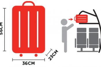 Quy định hành lý xách tay, hành lý ký gửi Air Asia