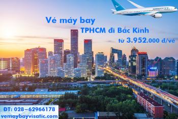 Vé máy bay Xiamen Airlines TPHCM đi Bắc Kinh, Beijing từ 3.952.000 đ