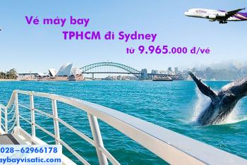 Vé máy bay Thai Airways TPHCM đi Sydney (Sài Gòn Sydney, Úc) từ 9.965k