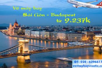 Vé máy bay Sài Gòn TPHCM đi Budapest, Hungary giá rẻ từ 9.237k