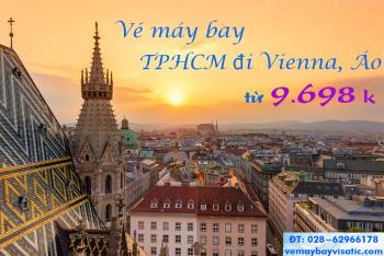 Vé máy bay Sài Gòn - Viên, TPHCM đi Vienna, Áo giá rẻ từ 9.698 k