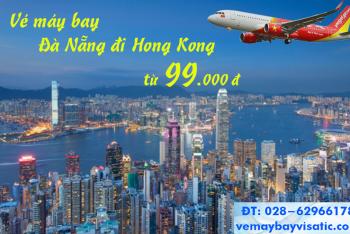 Vé máy bay Đà Nẵng đi Hong Kong Vietjet Air khuyến mãi từ 99000 đ