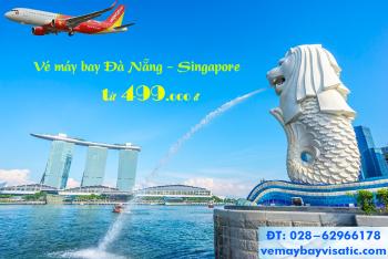 Vé máy bay Đà Nẵng đi Singapore Vietjet khuyến mãi, giá rẻ từ 499k
