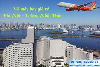 Vé máy bay Hà Nội đi Tokyo Vietjet giá rẻ từ 600.000 đ