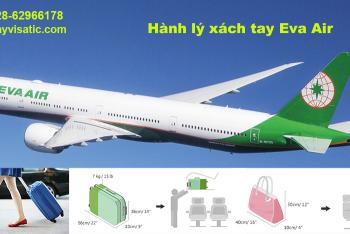 Hành lý xách tay Eva Air - Quy định chi tiết