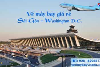 Vé máy bay TPHCM Sài Gòn đi Washington, D.C. Mỹ giá rẻ từ 13.150 k