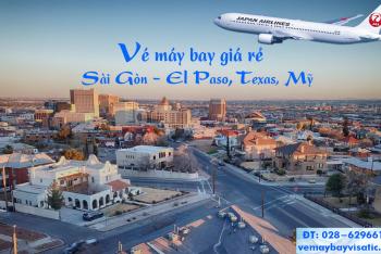 Vé máy bay Japan Airlines TPHCM đi El Paso, Texas, Mỹ giá rẻ từ 13230k